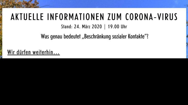 Header Aktuelle Informationen der Stadt Bad Dürkheim zum Corona-Virus Stand 24.03.2020 19:00 Uhr