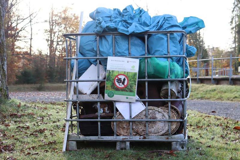 Müllsammelaktion